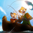 Gone Fishing (colour)